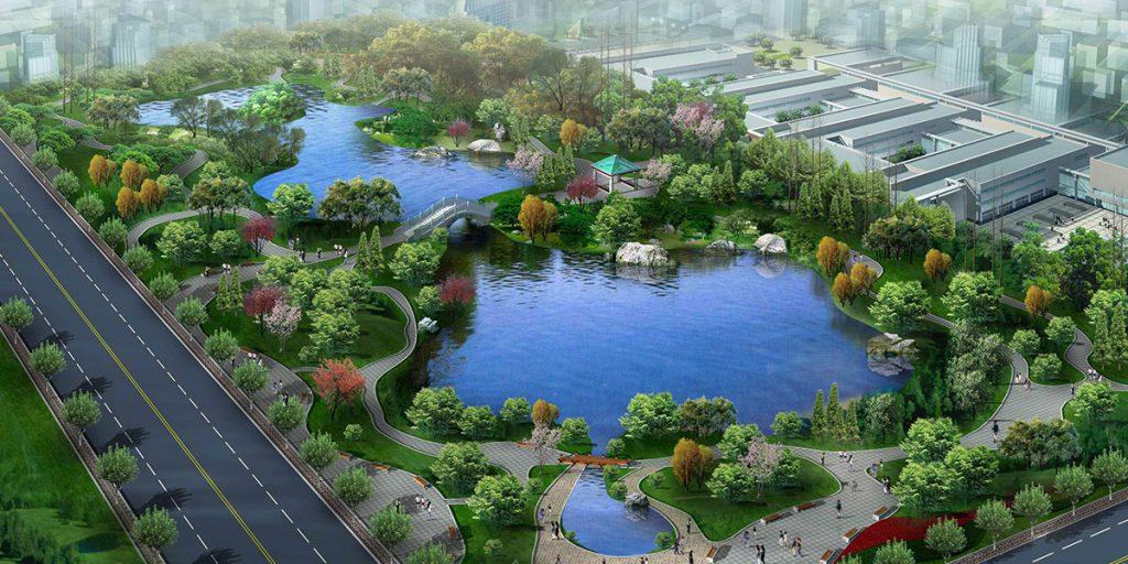 居住区绿化是城市绿化的重要部分